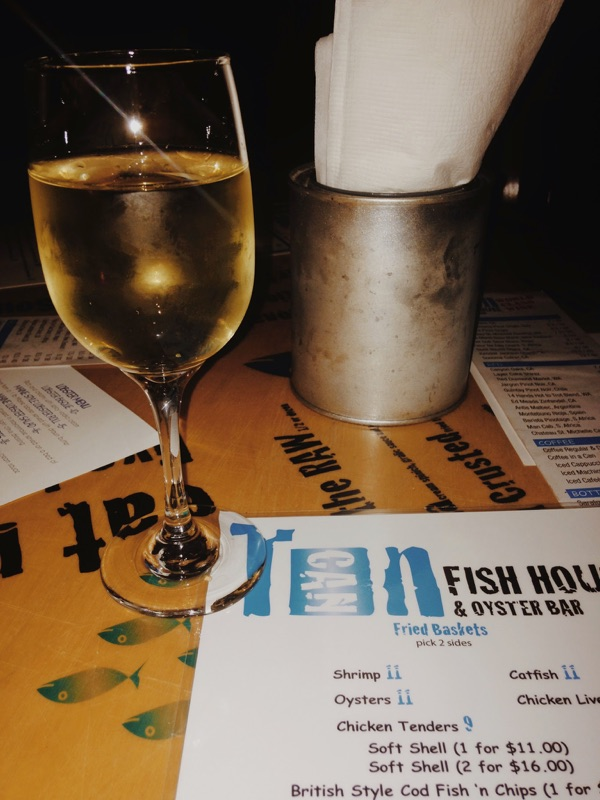 Tin can fish house oyster house oyster judging event for Tin can fish house