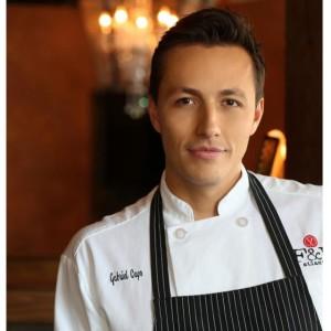 F&B Executive Chef Gabriel C apo