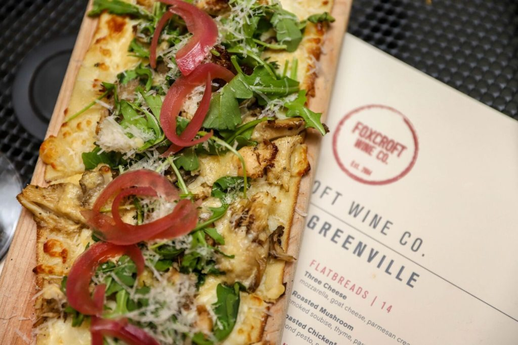 Dinner In Greenville, SC: Foxcroft Wine Co. Greenville,SC