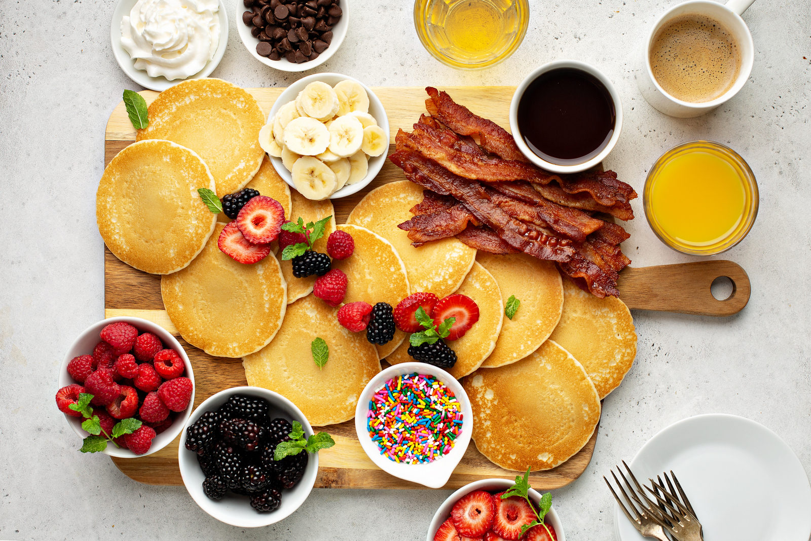 How To Build A Pancake Platter