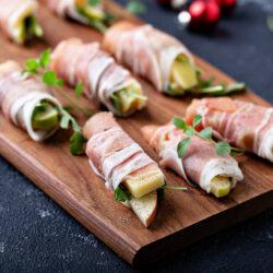 Recipe: Prosciutto-Wrapped Apple Bites